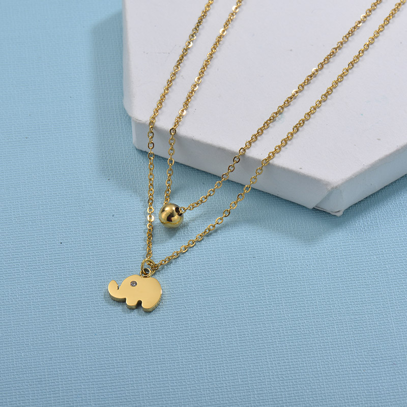 Collares de Acero Inoxidable para Mujer -SSNEG18-29729