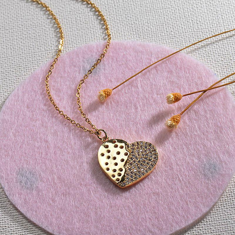 Collares de Oro 18k en Cobre -BRNEG154-30140