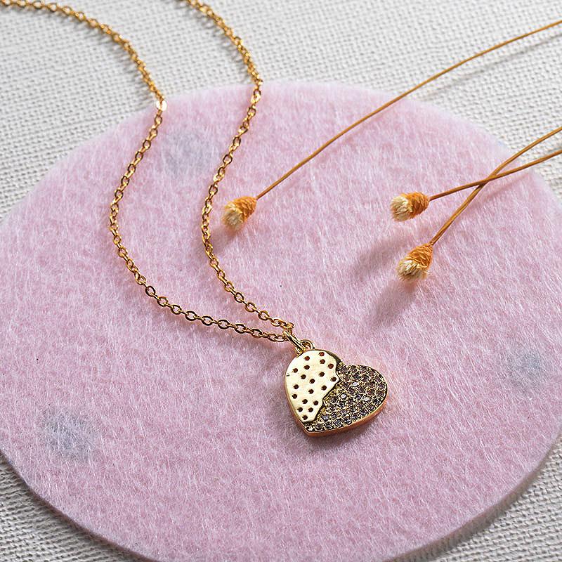Collares de Oro 18k en Cobre -BRNEG154-30141