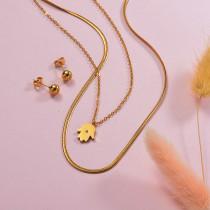 Hamsahand Layered Necklace Sets