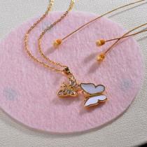 Collares de Oro 18k en Cobre -BRNEG154-30131