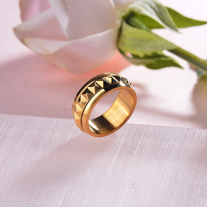 New Design 18K Gold Plated Ring