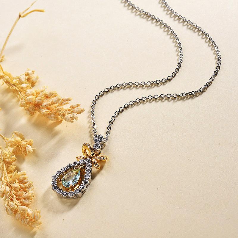 Collares de Oro 18k en Cobre -BRNEG179-30145