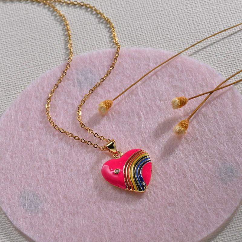 Collares de Oro 18k en Cobre -BRNEG154-30135