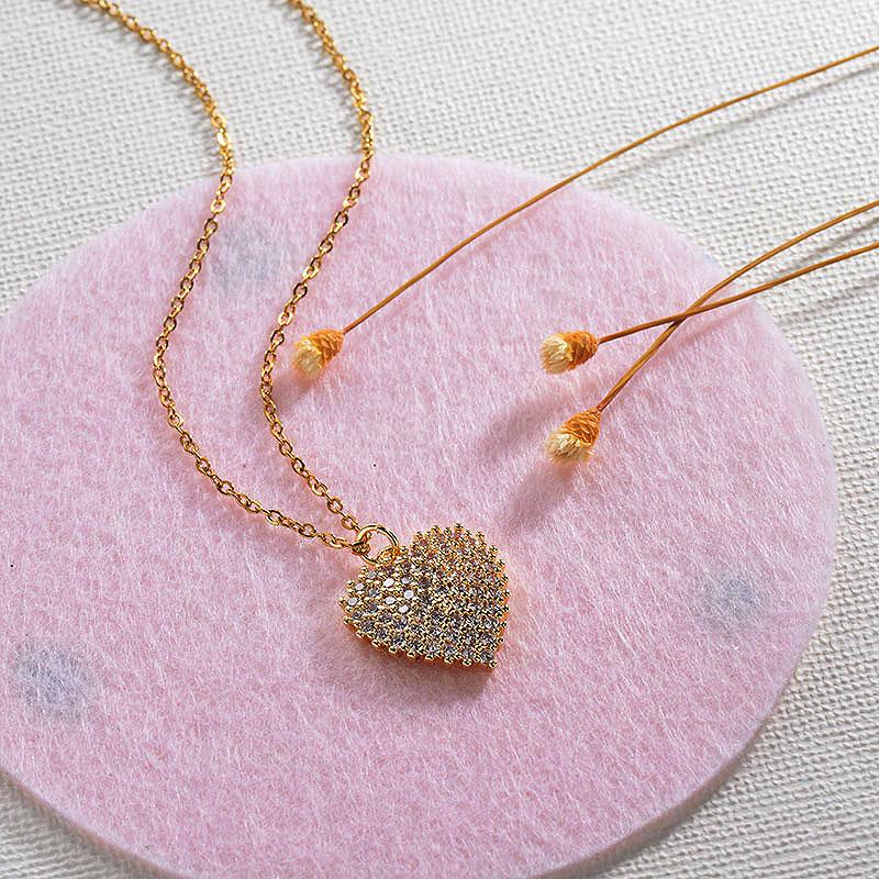 Collares de Oro 18k en Cobre -BRNEG154-30142