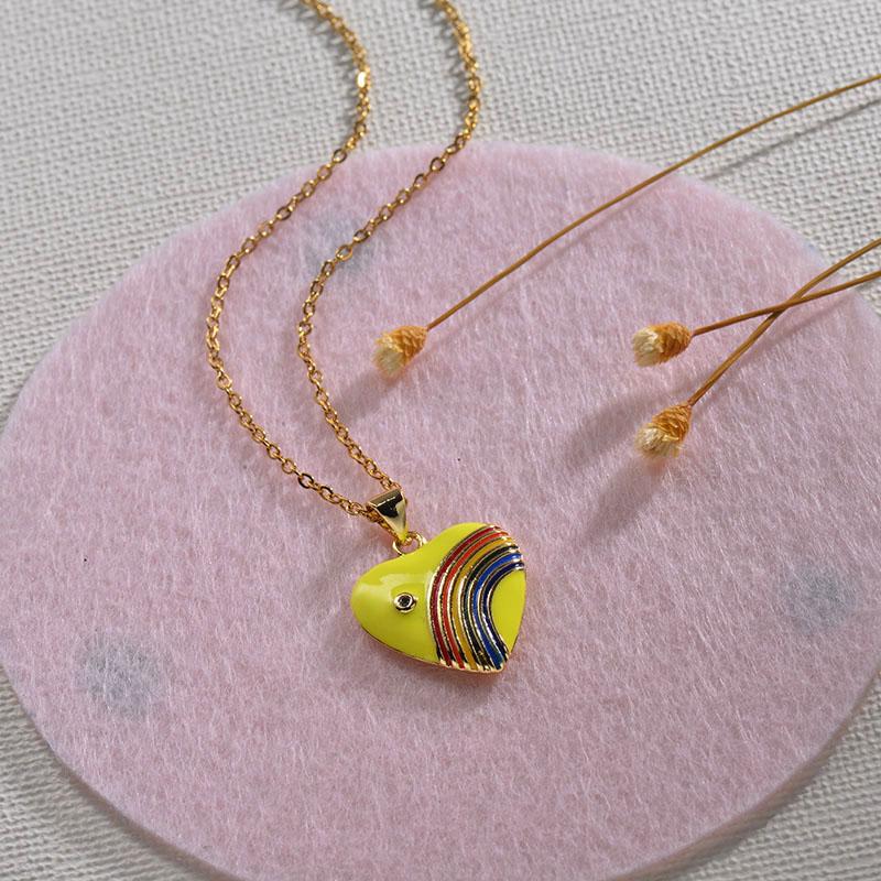 Collares de Oro 18k en Cobre -BRNEG154-30136