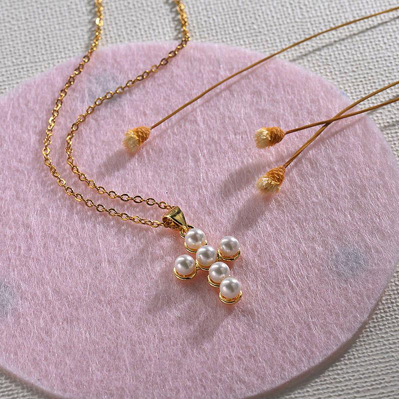 Collares de Oro 18k en Cobre -BRNEG154-30137