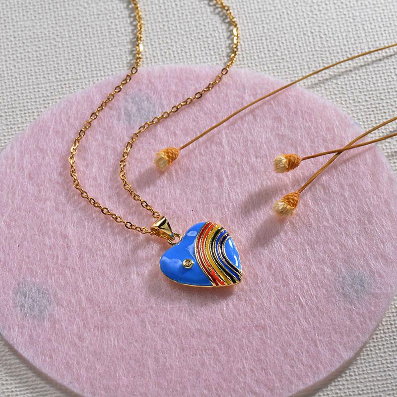 Collares de Oro 18k en Cobre -BRNEG154-30133