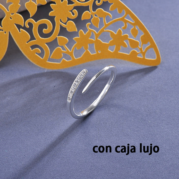 925 Sterling Pure Silver Rings for Girls