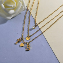 Personalized Name Letter Necklace
