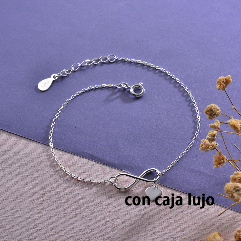 925 Sterling Pure Silver Bracelets for Girls