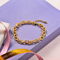 Stainless Steel Chain Link Bracelets