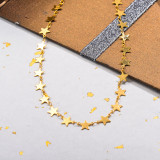 Stainless Steel Star Chain Necklace