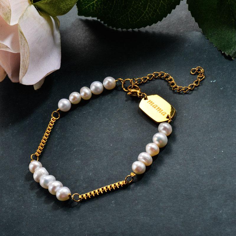 Fresh Water Pearl Beaded Bracelets
