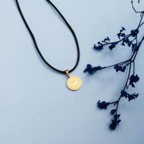 Stainless Steel 18k Gold Plated Necklace -SSNEG142-31474
