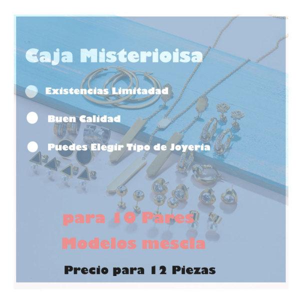 Caja Misteriosa Sorpresa De Joyeria lote de 12 Pieza Aleatorio -6ANVS-30410