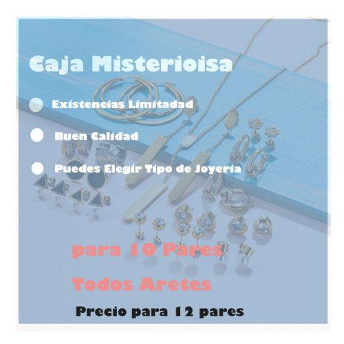 Caja Misteriosa Sorpresa De Joyeria lote de 12 Pieza Aleatorio -6ANVS-30407
