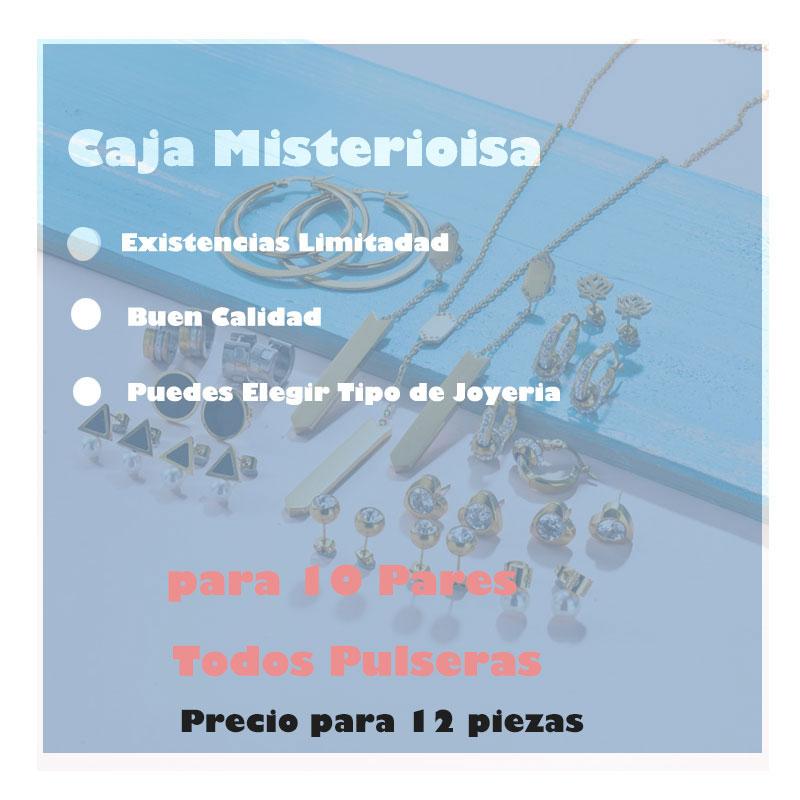 Caja Misteriosa Sorpresa De Joyeria lote de 12 Pieza Aleatorio -6ANVS-30409