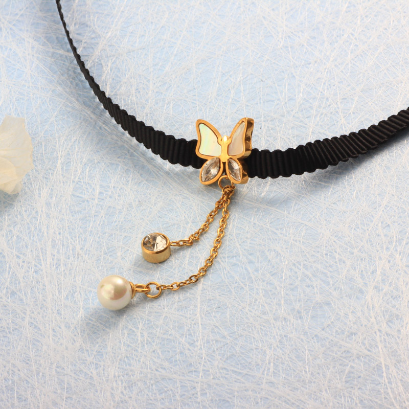 Collares de Acero Inoxidable -SSNEG157-32200