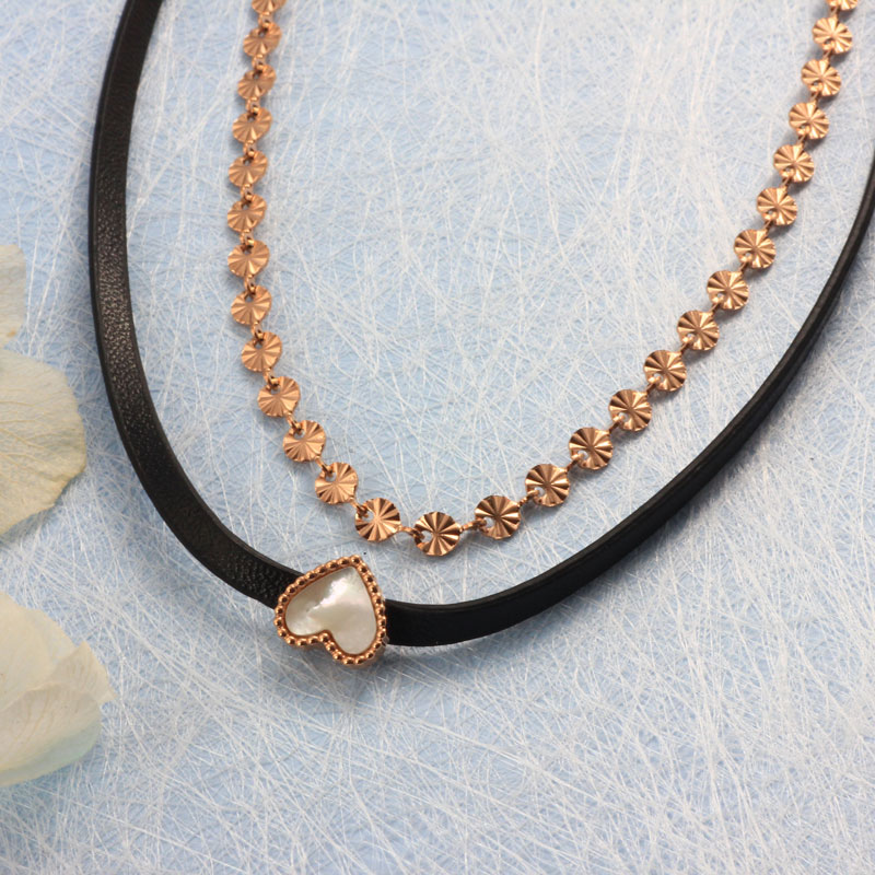 Collares de Acero Inoxidable -SSNEG157-32192