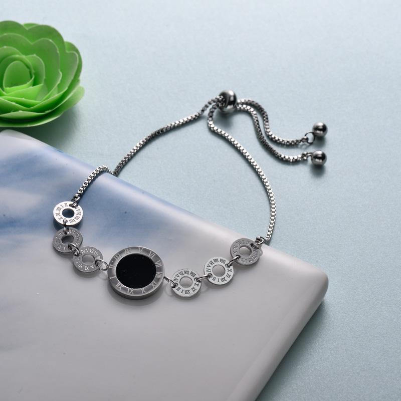pulseras de joyas de acero inoxidable para mujer al por mayor -SSBTG40-33212