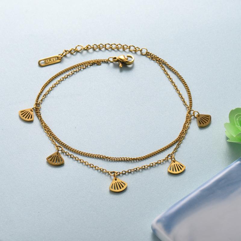 pulseras de joyas de acero inoxidable para mujer al por mayor -SSBTG40-33226