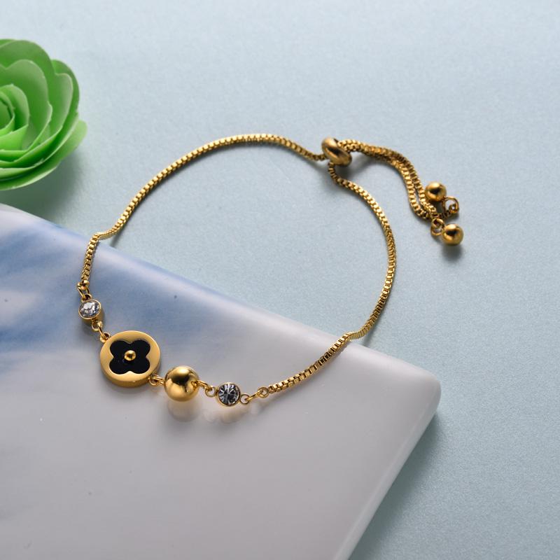 pulseras de joyas de acero inoxidable para mujer al por mayor -SSBTG40-33215