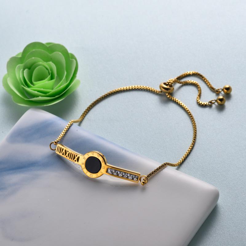 pulseras de joyas de acero inoxidable para mujer al por mayor -SSBTG40-33219