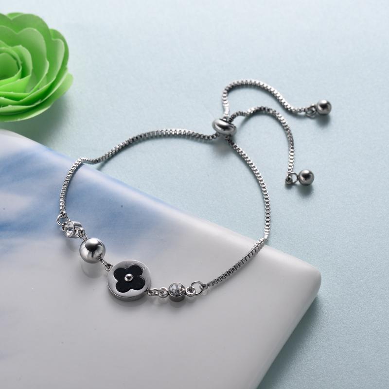 pulseras de joyas de acero inoxidable para mujer al por mayor -SSBTG40-33216