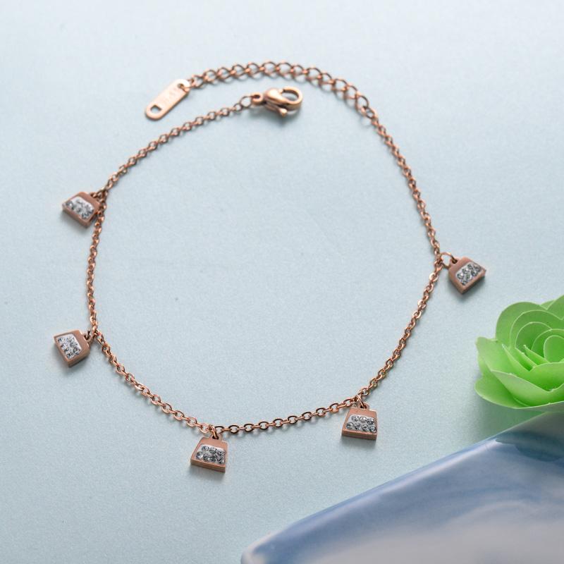 pulseras de joyas de acero inoxidable para mujer al por mayor -SSBTG40-33224