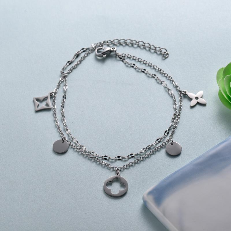 pulseras de joyas de acero inoxidable para mujer al por mayor -SSBTG40-33221