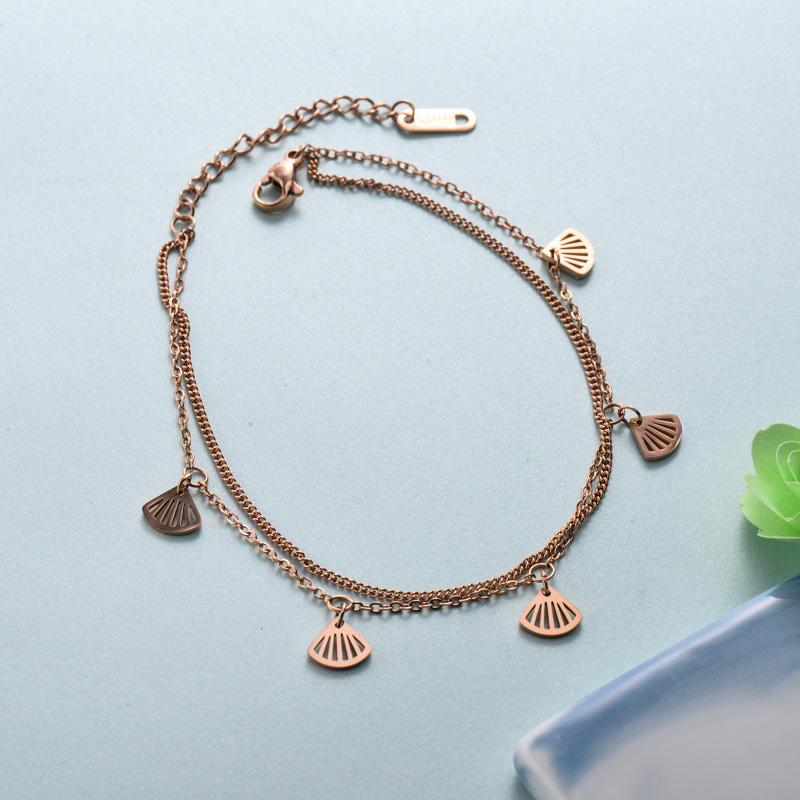 pulseras de joyas de acero inoxidable para mujer al por mayor -SSBTG40-33227