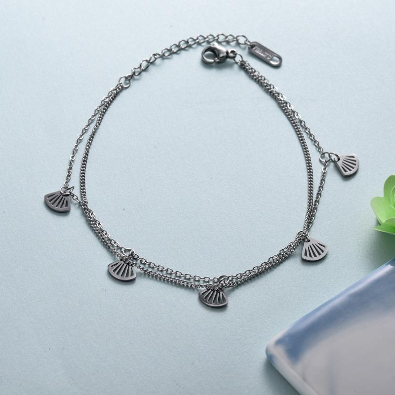 pulseras de joyas de acero inoxidable para mujer al por mayor -SSBTG40-33228