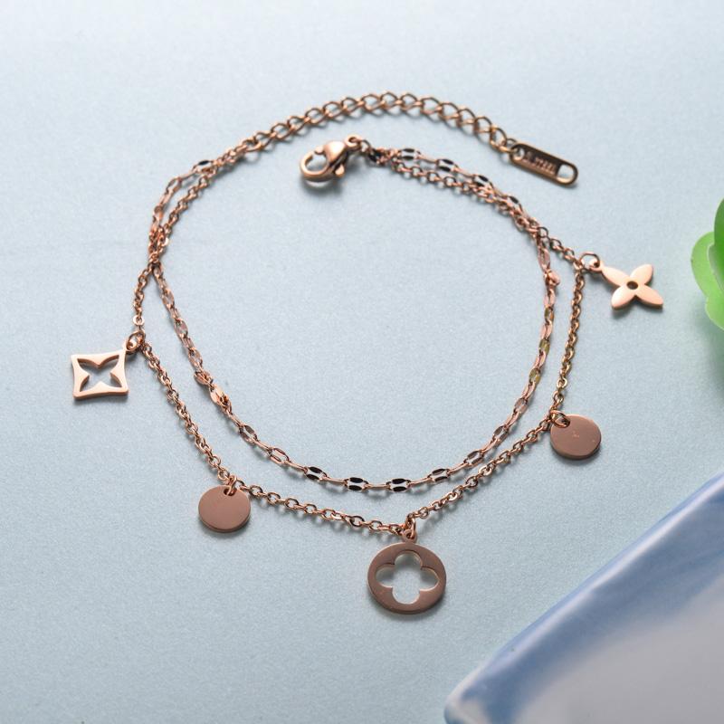 pulseras de joyas de acero inoxidable para mujer al por mayor -SSBTG40-33222