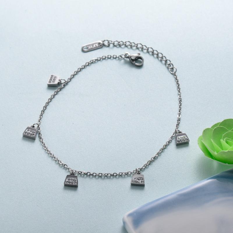 pulseras de joyas de acero inoxidable para mujer al por mayor -SSBTG40-33225