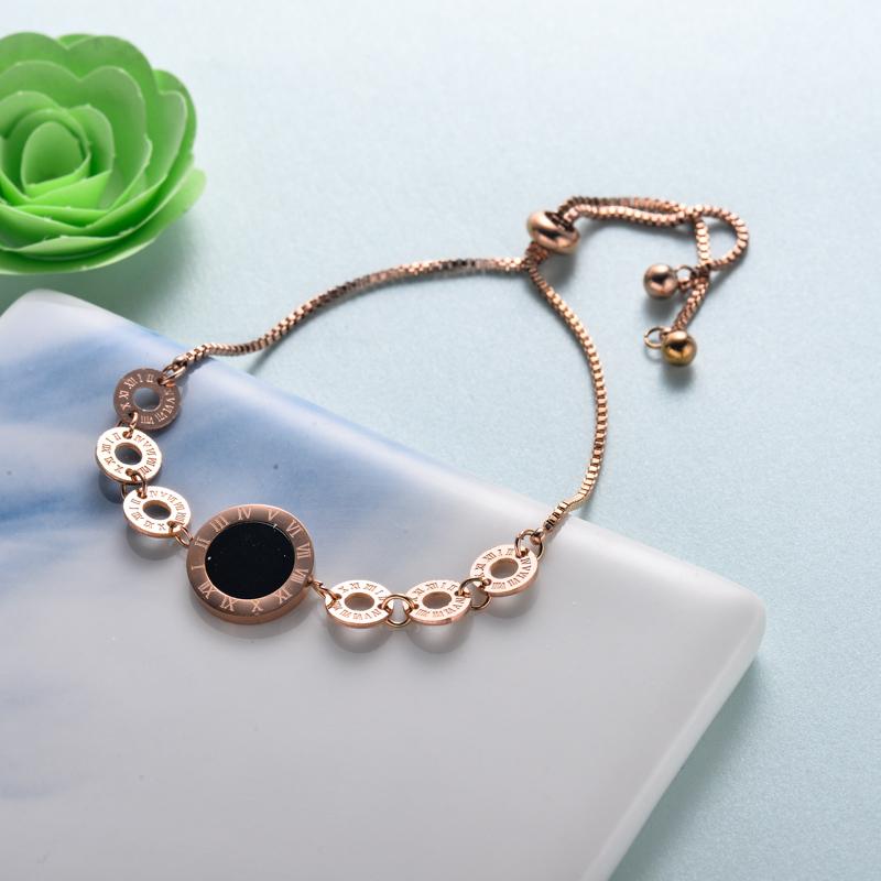 pulseras de joyas de acero inoxidable para mujer al por mayor -SSBTG40-33214