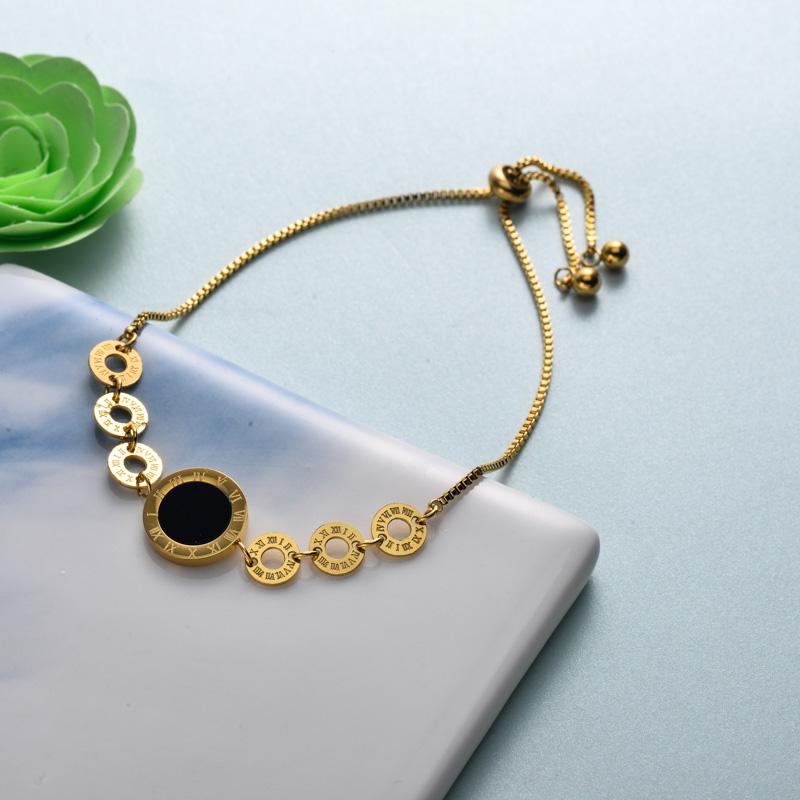 pulseras de joyas de acero inoxidable para mujer al por mayor -SSBTG40-33213