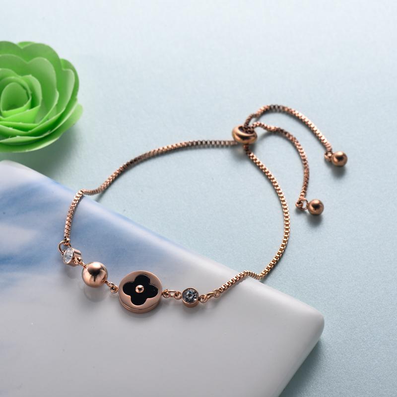 pulseras de joyas de acero inoxidable para mujer al por mayor -SSBTG40-33217