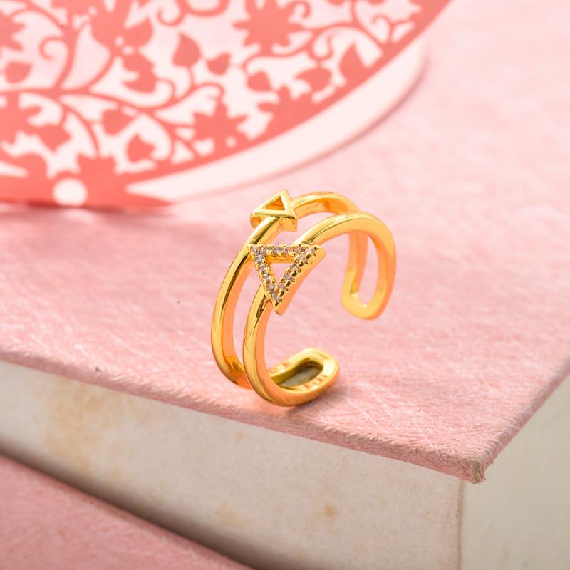 Anillos de Oro Laminado para Mujer -BRRGG155-33714