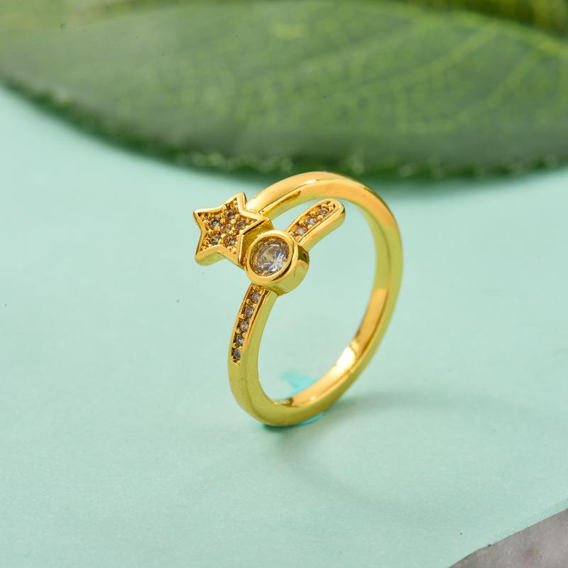 Anillos de Oro Laminado para Mujer -BRRGG155-33724
