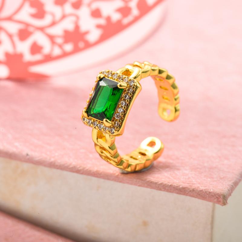 Anillos de Oro Laminado para Mujer -BRRGG155-33630