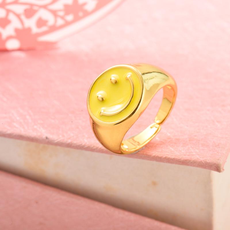 Anillos de Oro Laminado para Mujer -BRRGG155-33636