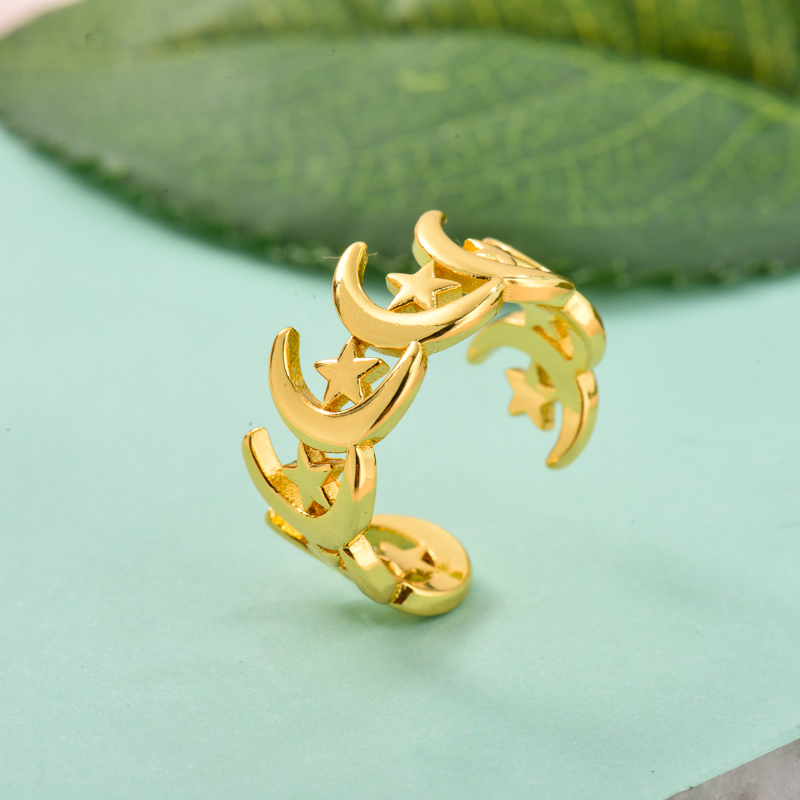 Anillos de Oro Laminado para Mujer -BRRGG155-33722