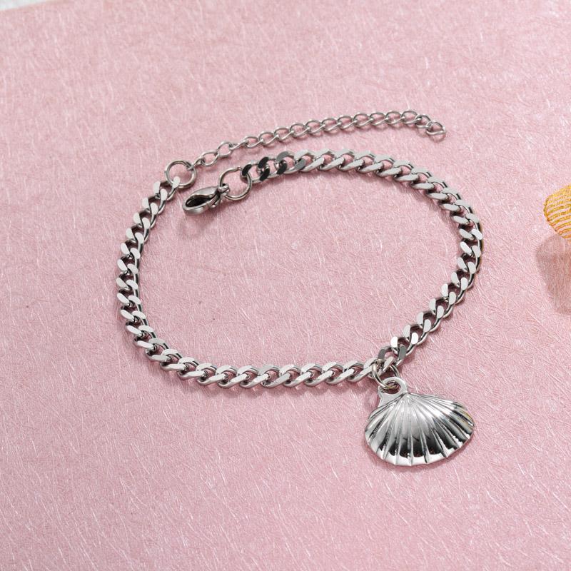 Stainless Steel Beach Marine Charm Bracelets -SSBTG143-32795