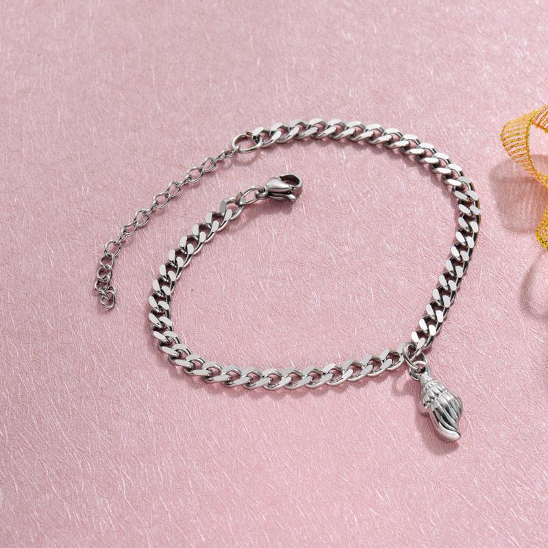 Stainless Steel Beach Marine Charm Bracelets -SSBTG143-32794