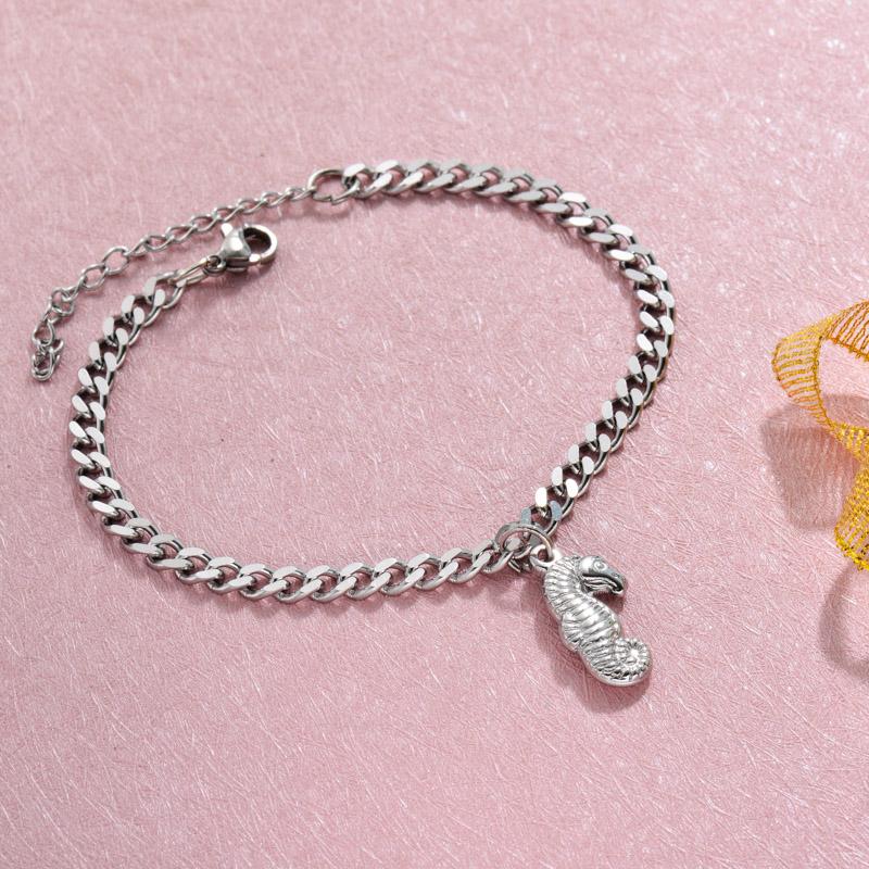 Stainless Steel Beach Marine Charm Bracelets -SSBTG143-32800