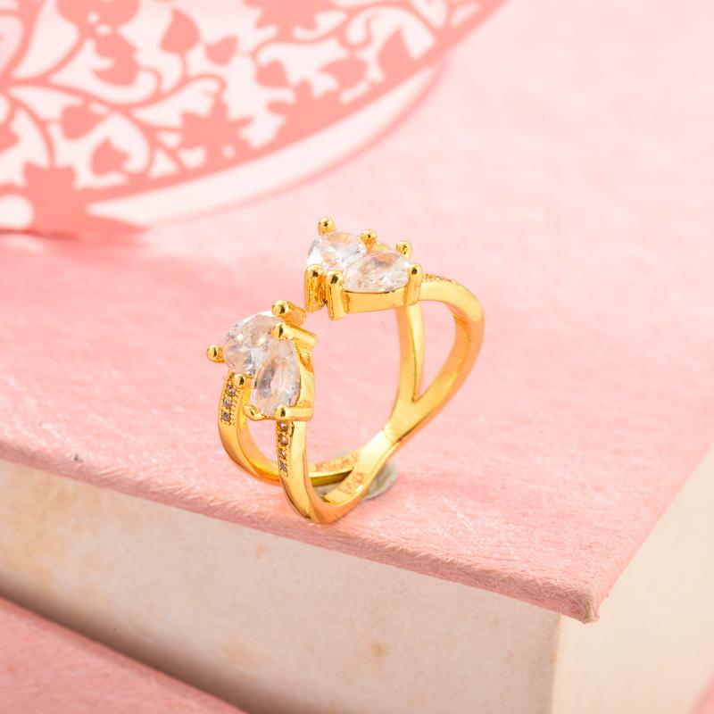 Anillos de Oro Laminado para Mujer -BRRGG155-33717
