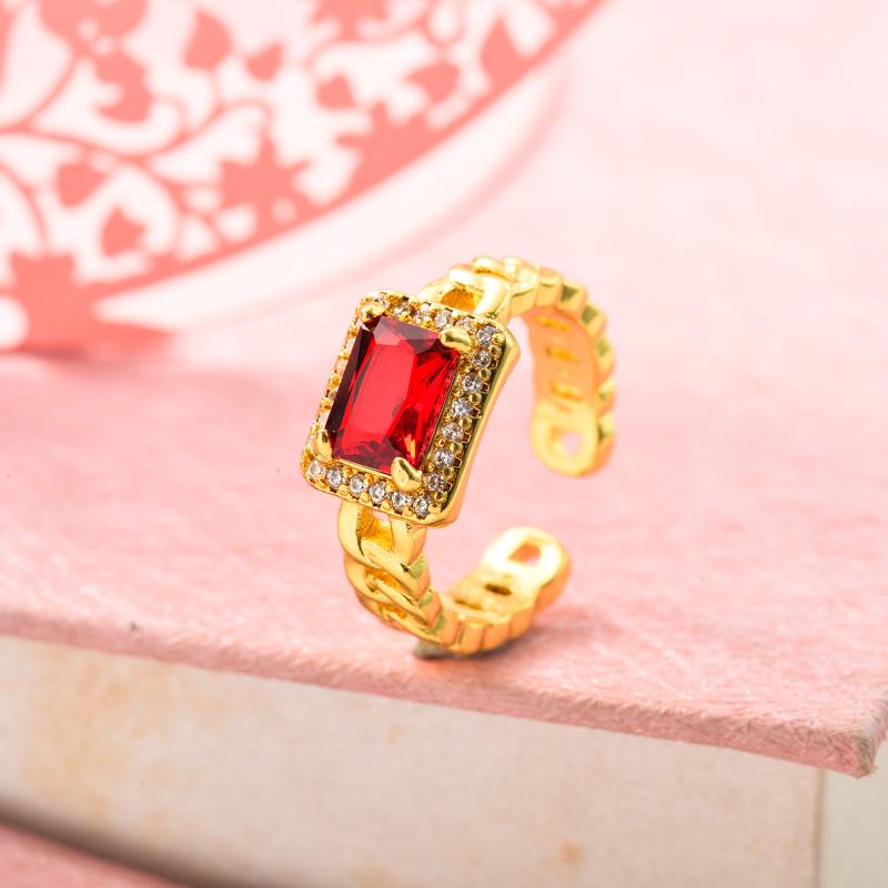 Anillos de Oro Laminado para Mujer -BRRGG155-33631