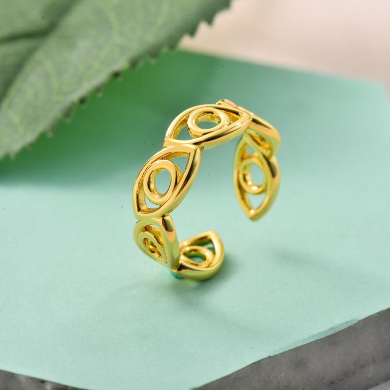 Anillos de Oro Laminado para Mujer -BRRGG155-33729