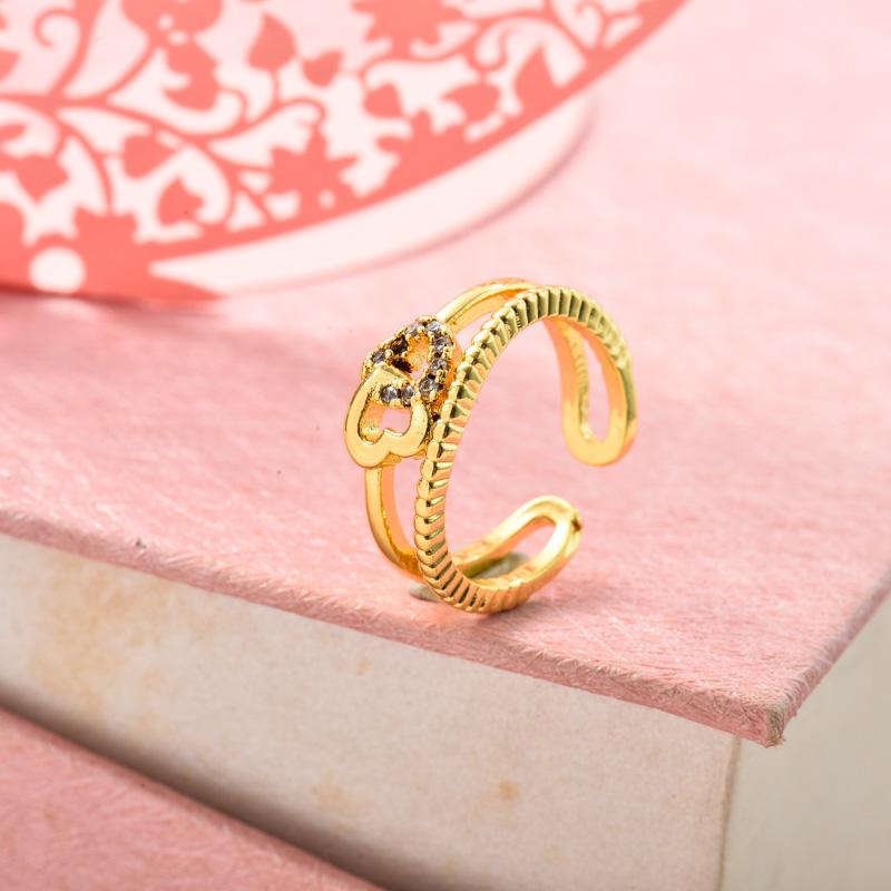 Anillos de Oro Laminado para Mujer -BRRGG155-33715